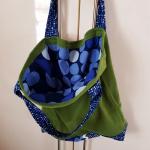 grüne Einkaufstasche