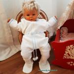 vintage Baby Strampler, Schlafanzug