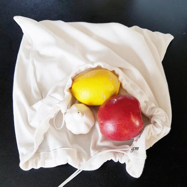 Obstbeutel, Stoffbeutel, nachhaltig