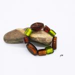 Armreif, Armband mit Glassteinen