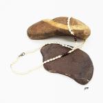 Perlenkette, Halskette mit Süßwasserperlen