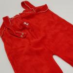 Vintage Baby Strampler rot