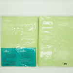 grünes Betttuch