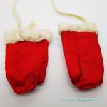 rote Baby Handschuhe Größe 1