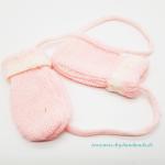 rosa Baby Handschuhe Größe 1