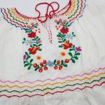 ungarische Tracht, Mädchenkleid